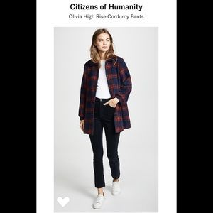 Citizens of Humanity Olivia Corduroy 30 slim ankle